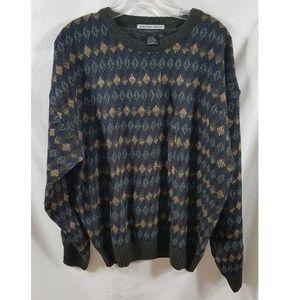 Geoffrey Beene Classic Vintage Crew Neck Sweater